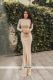 Вечернее  гипюровое платье Размеры: 42 44 46, фото 7