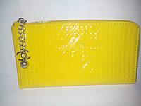"Кошелёк женский ""Chanel"" yellow"