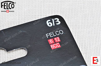 Змінна деталь Felco 6/3 (лезо до секатора Фелко 6, Felco 12, Felco 6СС), фото 2