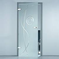 Скляні двері міжкімнатні Glass Construct