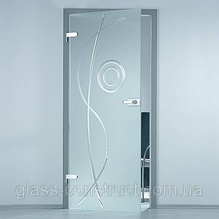 Стеклянные двери межкомнатные Glass Construct