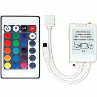 Одноцветный контроллер (с пультом ДУ) IR24-SC
