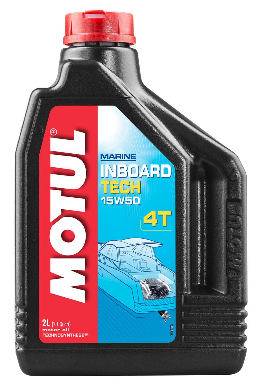 Масло моторное MOTUL Inboard Tech 4T 15W-50 (2л)