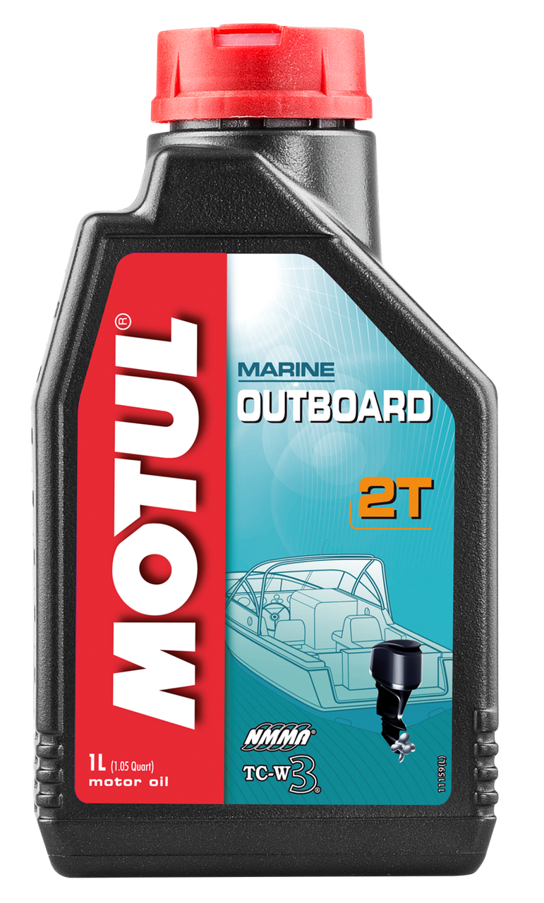 Масло моторное MOTUL Outboard 2T (1л)
