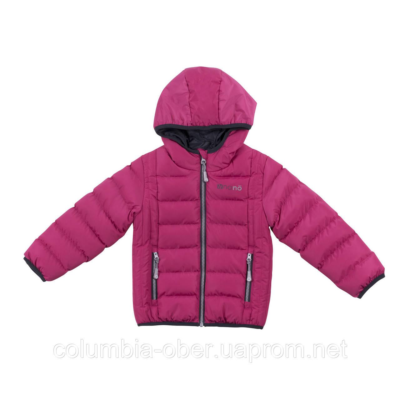 Демисезонная куртка для девочки NANO F18 M 1250 Candy Berries. Размер 2-14.
