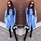 Кашемировое женское Пальто оверсайз под пояс 9pt116, фото 4