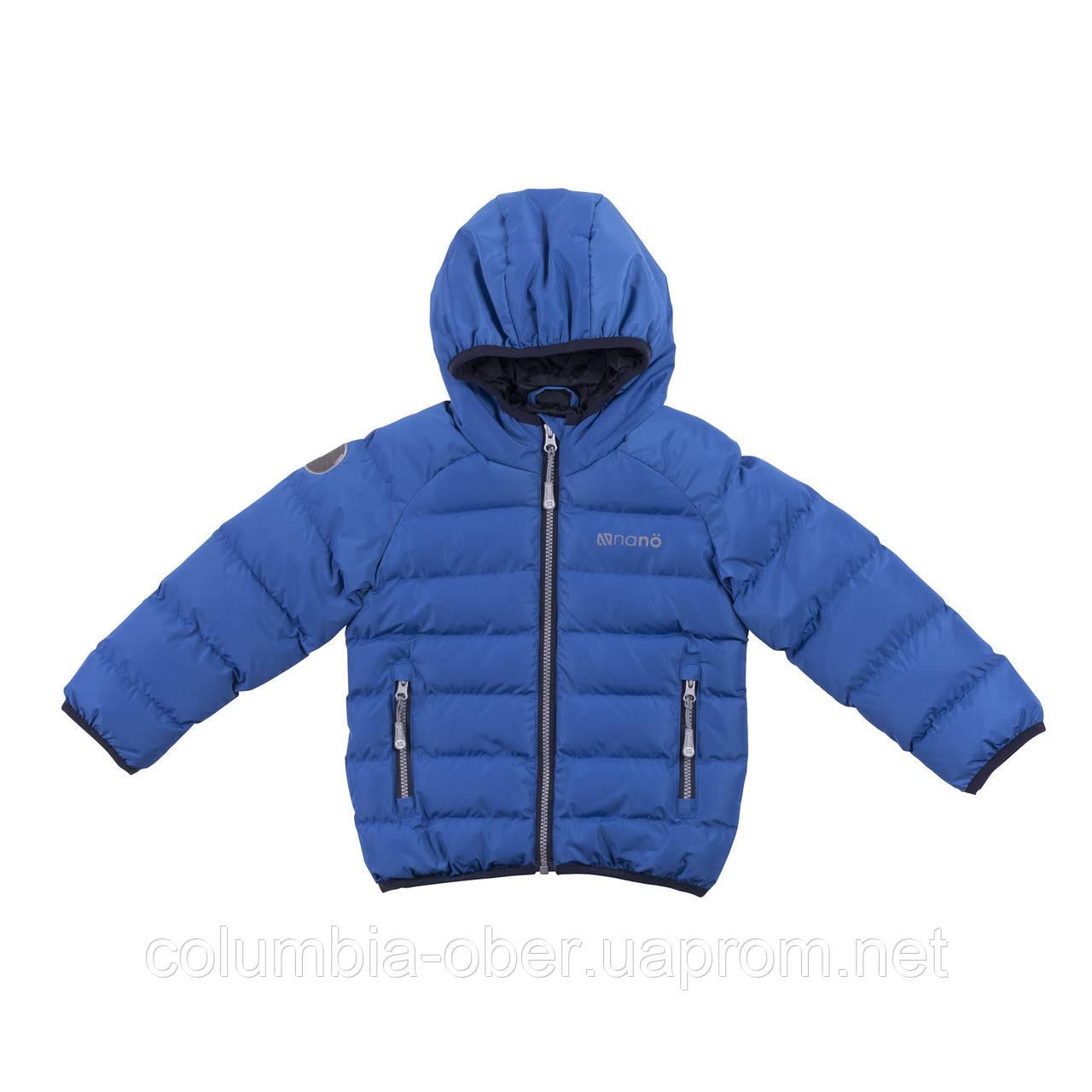 Демисезонная куртка для мальчика NANO F18 M 1251 Imperial Blue. Размеры 2-14.