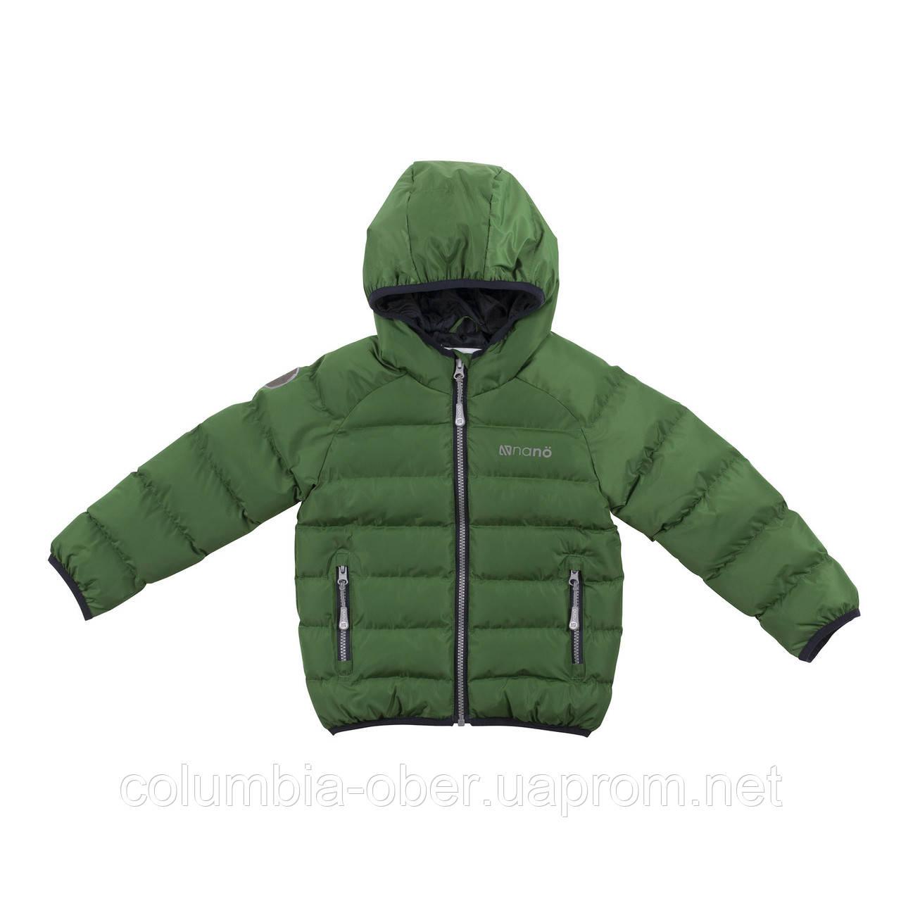 Демисезонная куртка для мальчика NANO F18 M 1251 Mystic Green. Размеры 2-14.