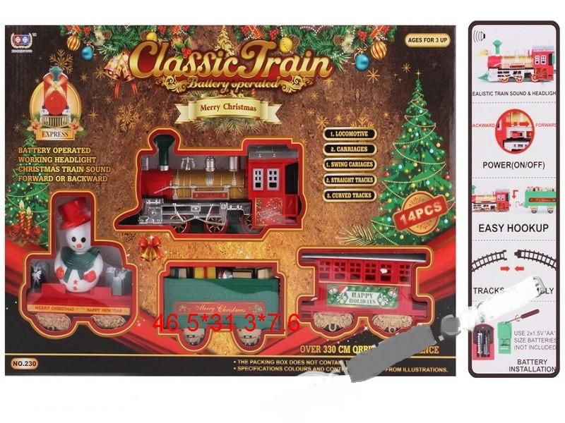 Железная дорога Classical Train merry christmas