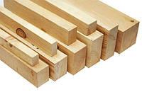 Брус деревянный 50х50, д. 4,5-6