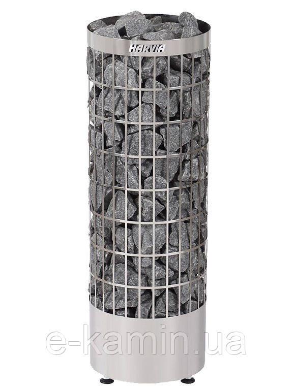 Электрическая каменка HARVIA CILINDRO PC 110 Е steel