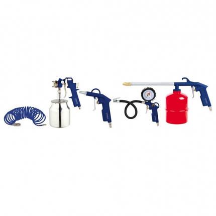 Набор пневмоинструментов Forte AT KIT-5S Suction NEW, фото 2