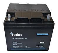 Аккумулятор мультигелевый MERLION MLB-12-45 12V 45AH, (AGM) для ИБП, фото 1