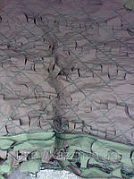 Сетка маскировочная, плотность 95%, цвет хаки (камуфлированная)  размер 3 x 6 м. Чехия., фото 1