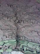 Сетка маскировочная, плотность 95%, цвет хаки (камуфлированная)  размер 3 x 6 м. Чехия.