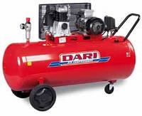 Компрессор двухтупенчатый, с ременной передачей DARI DEC 270/890-7.5