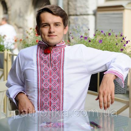 Вышитая мужская сорочка | Вишита чоловіча сорочка, фото 2