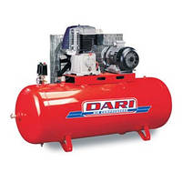Компрессор двухступенчатый, с ременной передачей, (380V) DARI DEF 500/890-7.5