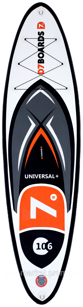SUP доска D7 Boards XL 10'8'' x 34'' x 6'', 2019