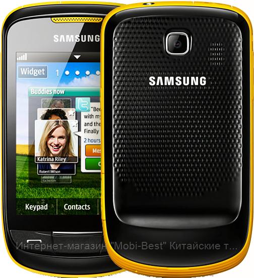 """Китайский телефон Samsung Corby 2, меню в стиле Android, камера 3 Mpx, 2 SIM, дисплей 3.2"""" - Интернет-магазин """"Mobi-Best"""" Китайские телефоны и китайские смартфоны iPhone Samsung Nokia в Украине в Харькове"""