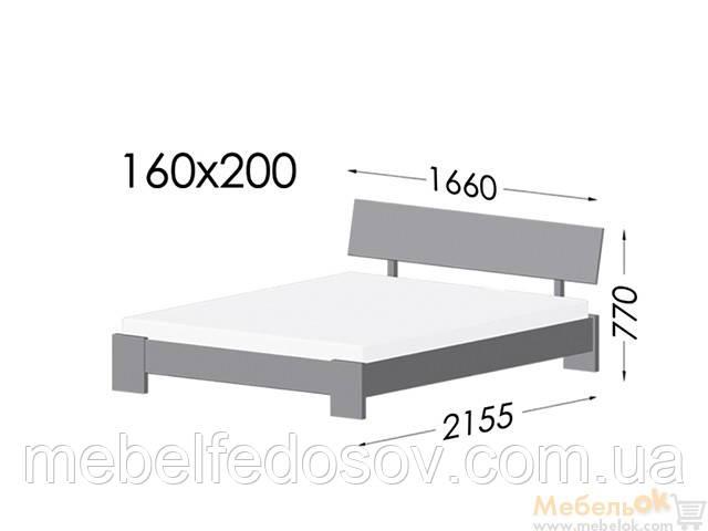 Кровать титан эстелла наружные размеры