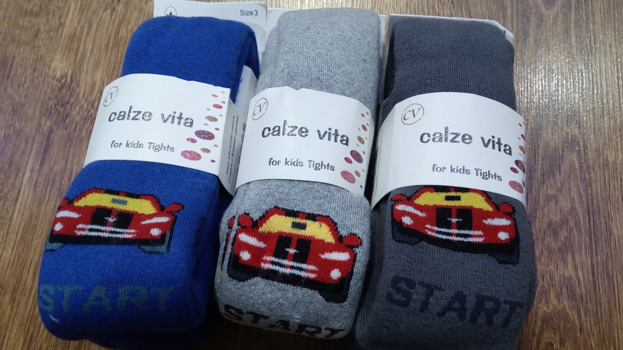 """Детские махровые колготы""""Calze vita"""",Турция"""