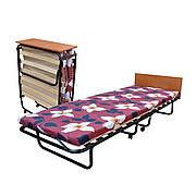 Раскладная кровать на 15 ламелях с подголовником