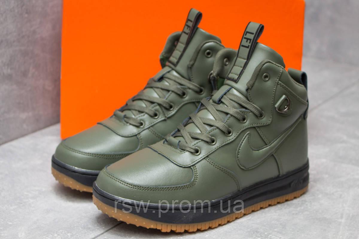 Зимние мужские кроссовки Nike Air, зеленые (30222),   42 45 46 ... 2de01031d21