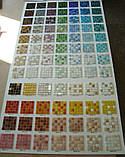 Стеклянная мозаика в бежево-графитовой гамме, фото 2