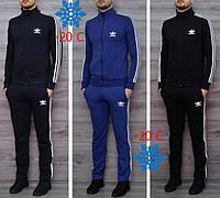 Мужской теплый зимний спортивный костюм Adidas (Адидас), фото 1