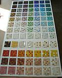 Стеклянная мозаика в фиолетово-голубой  гамме, фото 2