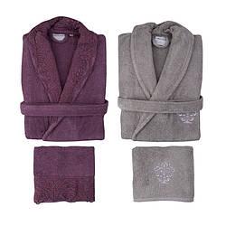 Набір халат з рушником Karaca Home - Drisela 2018-2 murdum