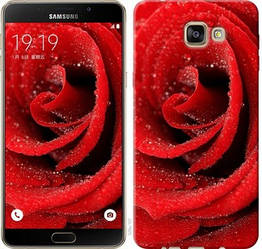 "Чехол на Samsung Galaxy A9 Pro Красная роза ""529c-724-328"""