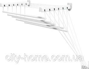 Сушилка для белья потолочно-настенная GIMI LIFT 140 Италия, фото 2