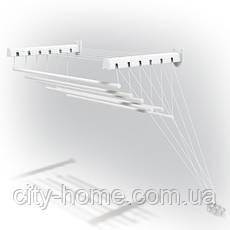 Сушилка для белья потолочно-настенная GIMI LIFT 140 Италия, фото 3