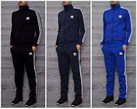 Теплый мужской спортивный костюм Adidas! Адидас Зима!