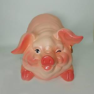 Копилка свинка Дуся 22см