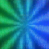 Видео LED занавес P5 4*8 RGB 3 in 1