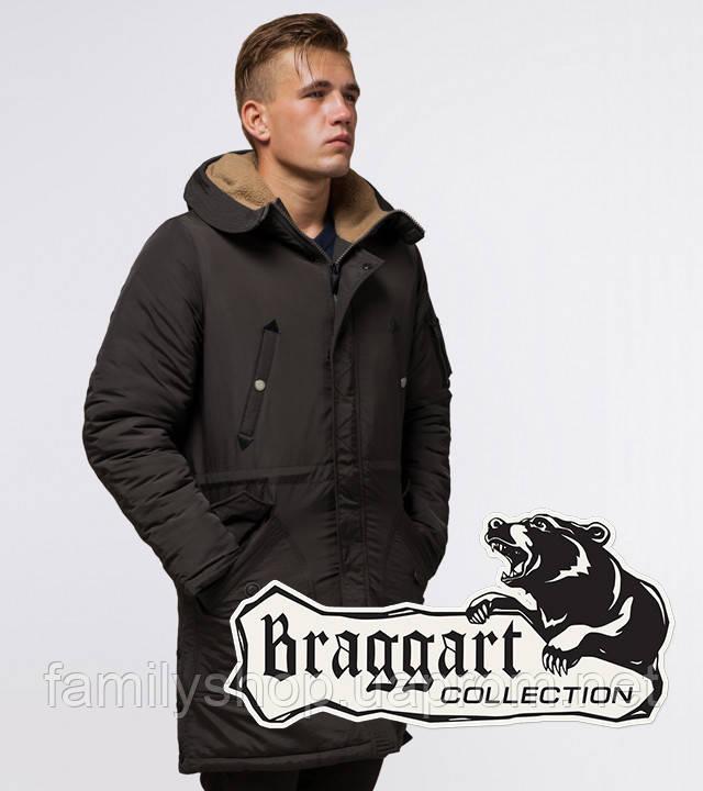 Braggart - Arctic 90520 | Парка зимняя коричневая