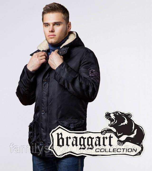 Braggart - Arctic 34568 | Парка мужская зимняя черная