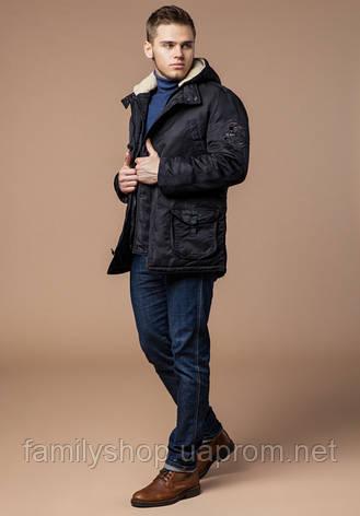 Braggart - Arctic 34568 | Парка мужская зимняя черная, фото 2