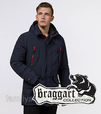 Braggart - Arctic 48560 | Зимняя парка т-синяя, фото 2