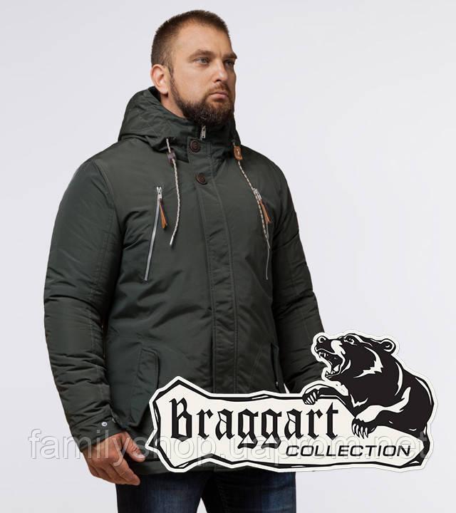 Braggart - Arctic 43015 | Парка зимняя хаки