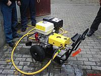 Аппарат высокого давления с подогревом воды автономный дизельный