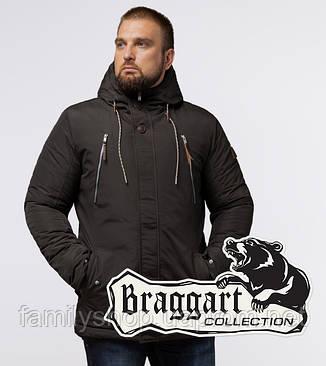 Braggart - Arctic 43015 | Парка зимняя коричневая, фото 2
