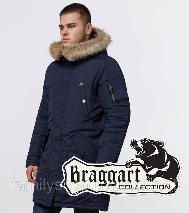 Braggart - Arctic 91127 | Парка зимняя синяя