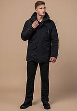 Braggart - Arctic 47450 | Парка мужская зимняя черная, фото 2