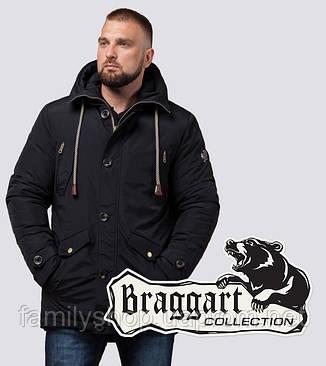 Braggart - Arctic 45950 | Зимняя парка мужская черная, фото 2