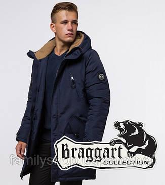 Braggart - Arctic 96120 | Парка зимняя синяя, фото 2