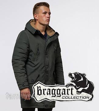 Braggart - Arctic 96120 | Зимняя мужская парка хаки, фото 2